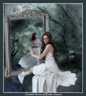 Mirror dreams for Desire miroir miroir